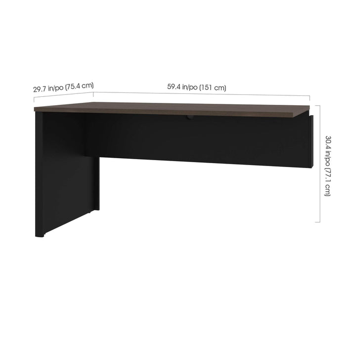 Pending - Bestar Office Accessories Connexion Return Table - Available in 3 Colors