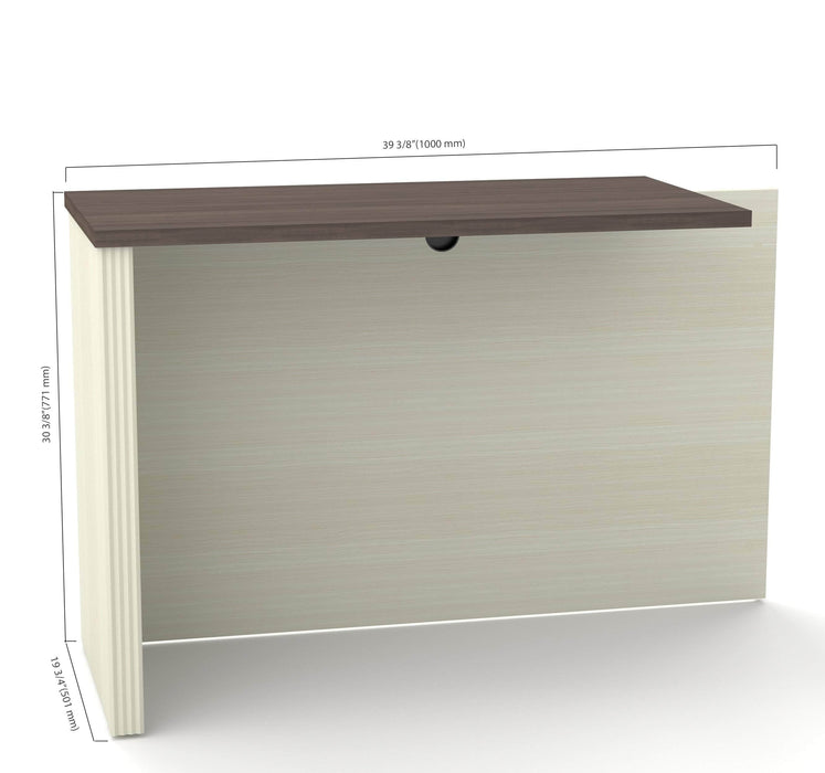 Pending - Bestar Office Accessories Prestige + Return Table - Available in 3 Colors