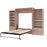 Pending - Bestar Queen Murphy Bed Cielo Queen Murphy Bed and 2 Storage Cabinets with Drawers (124W) - Available in 2 Colors