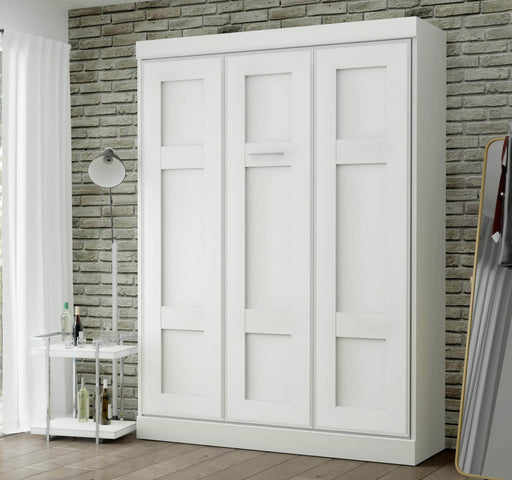 Pending - Bestar Queen Murphy Bed Edge 65W Queen Murphy Bed - Available in 2 Colors