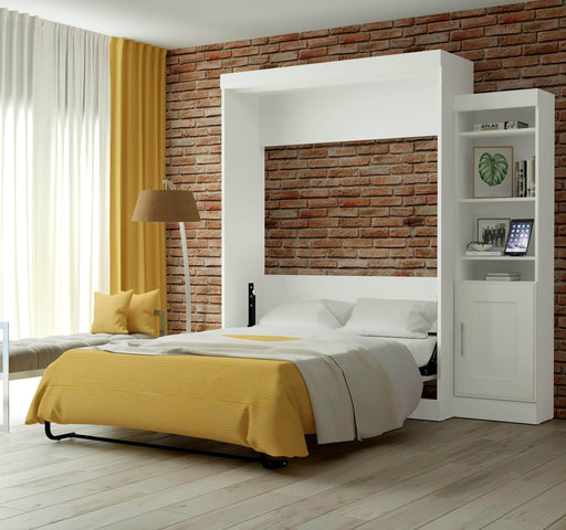 "Pending - Bestar Queen Murphy Bed Edge Queen Murphy Bed and 1 Storage Unit (86"") - Available in 2 Colors"