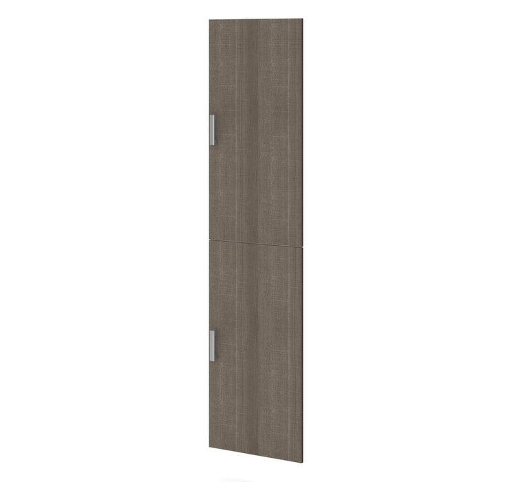 "Pending - Bestar Shelves Drawers and Doors Bark Grey Cielo 2-Door Set for 19.5"" Closet organizer - Bark Grey"