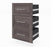 Pending - Bestar Shelves Drawers and Doors Bark Grey Pur 3 Drawer Set for Pur 25W Storage Unit - Available in 3 Colours