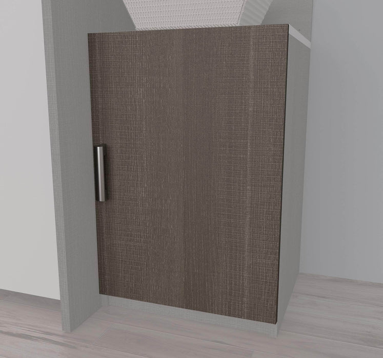 "Pending - Bestar Shelves Drawers and Doors Cielo 2-Door set for 19.5"" Low Storage Unit - Available in 2 Colours"