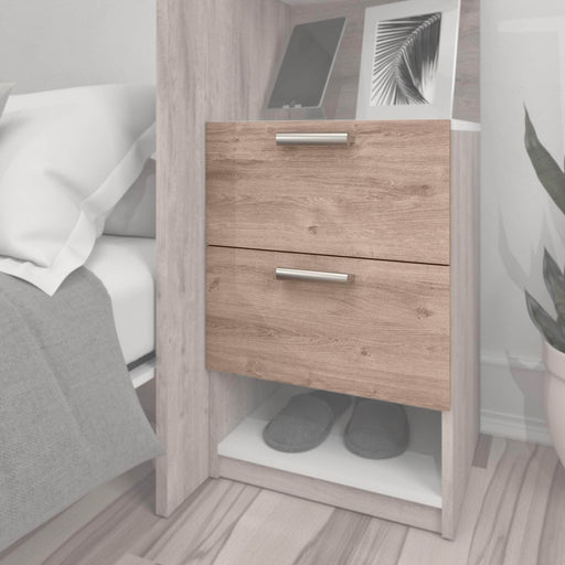 "Pending - Bestar Shelves Drawers and Doors Cielo 2-Drawer Set for Cielo 19.5"" Closet Organizer - Available in 2 Colours"