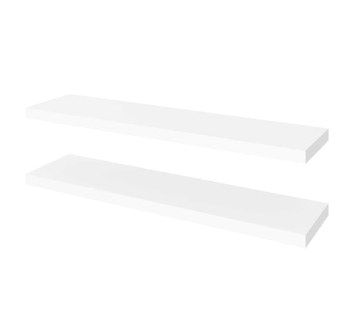 "Pending - Bestar Shelves Drawers and Doors Universel 2-Piece set including 12"" x 48"" High Quality Floating Shelves - Available in 3 Colours"
