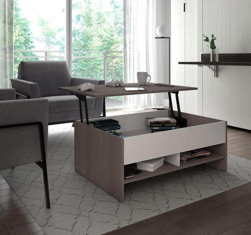 "Pending - Bestar Small Space 37"" Lift-Top Coffee Table - Available in 2 Colours"