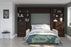 Pending - Bestar Sofa Murphy Bed Pur Full Murphy Bed, 1 Sofa and 2 Storage Units with Drawers - Available in 2 Colours