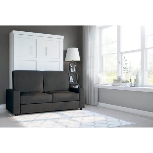 Pending - Bestar Sofa Murphy Bed Pur Full Murphy Bed and a Sofa - Available in 2 Colors