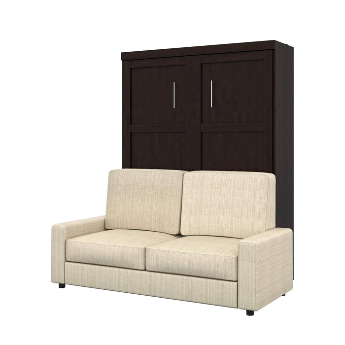Pending - Bestar Sofa Murphy Bed Pur Queen Murphy Bed and a Sofa - Available in 2 Colors