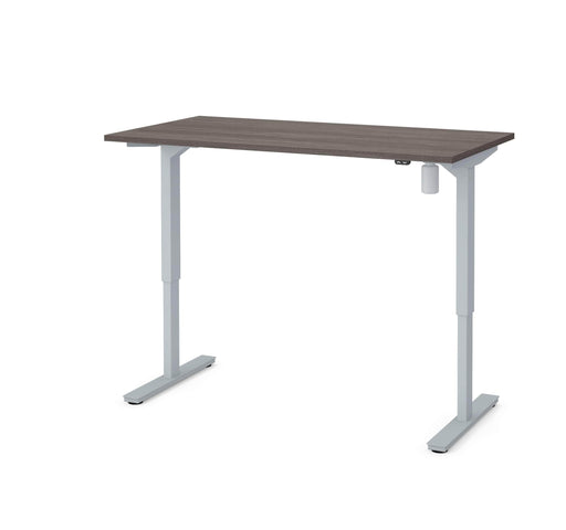 "Pending - Bestar Standing Desk Bark Grey Universel 30"" x 60"" Standing Desk - Bark Grey"