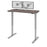 "Pending - Bestar Standing Desk Bark Grey Upstand 24"" x 48"" Standing Desk with Dual Monitor Arm - Available in 4 Colours"