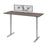 "Pending - Bestar Standing Desk Bark Grey Upstand 30"" x 72"" Standing Desk with Dual Monitor Arm - Available in 4 Colours"