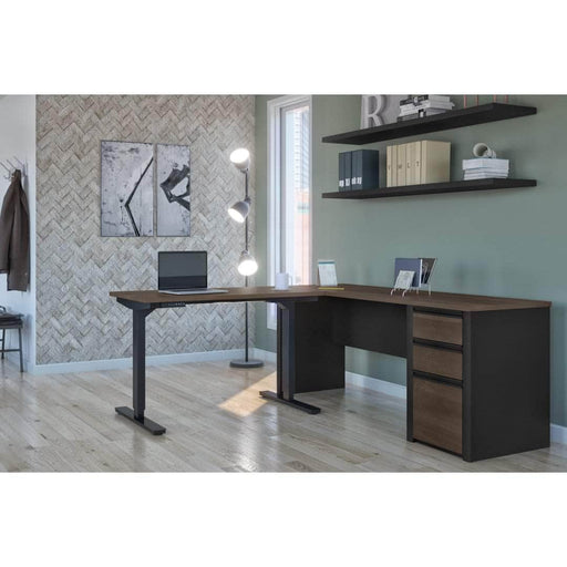 Pending - Bestar Standing Desk Connexion 2-Piece set including a standing desk and a desk - Available in 3 Colours