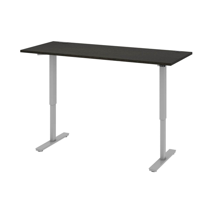 "Pending - Bestar Standing Desk Deep Grey Upstand 30"" x 72"" Standing Desk - Available in 4 Colours"