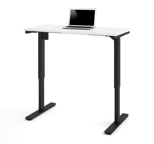 "Pending - Bestar Standing Desk White Universel 24"" x 48"" Standing Desk - Available in 10 Colours"