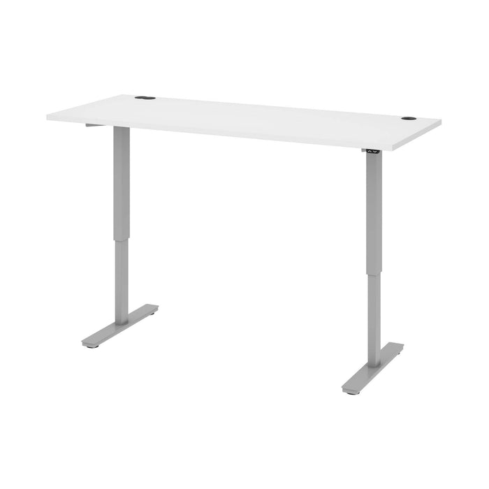"Pending - Bestar Standing Desk White Upstand 30"" x 72"" Standing Desk - Available in 4 Colours"