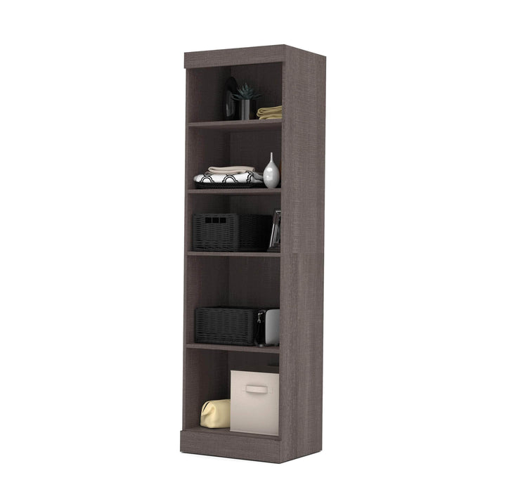 "Pending - Bestar Storage Unit Bark Grey Pur 25"" Storage Unit - Available in 4 Colours"