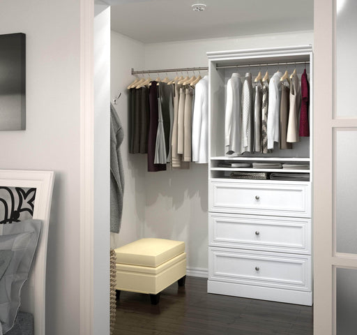 "Pending - Bestar Storage Unit Versatile 36"" Storage Unit with 3 Drawers - Available in 2 Colours"