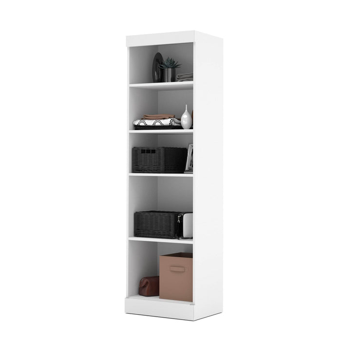 "Pending - Bestar Storage Unit White Pur 25"" Storage Unit - Available in 4 Colours"