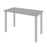 "Pending - Bestar Table Desk Silver Grey Universel 24"" x 48"" Table Desk with Round Metal Legs - Available in 9 Colours"