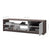 Pending - Bestar TV Stand Bark Grey & White Small Space 54W TV Stand - Available in 2 Colors