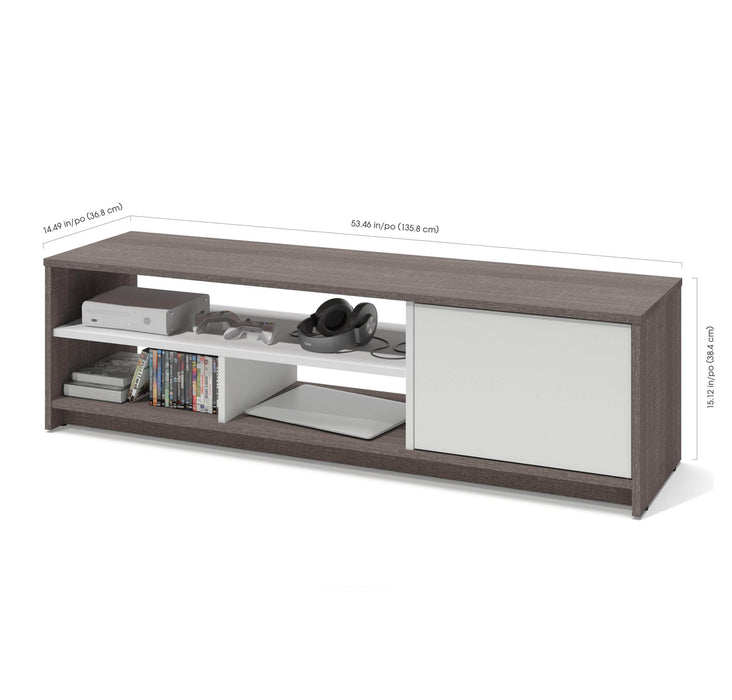 Pending - Bestar TV Stand Small Space 54W TV Stand - Available in 2 Colors