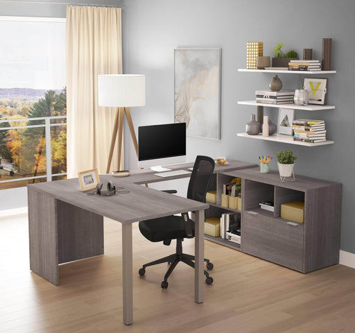 Pending - Bestar U-Desk i3 Plus U-Shaped Executive Desk - Available in 2 Colors