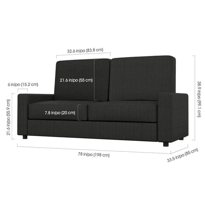 Pending - Bestar Versatile Queen Wall Bed and Sofa - Available in 2 Colours
