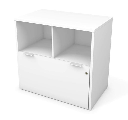 Pending - Bestar White i3 Plus Lateral File Cabinet with 1 Drawer - Available in 3 Colours