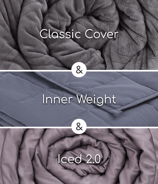 Hush Blankets Weighted Blanket The 2-in-1 Weighted Blanket Bundle: Summer & Winter