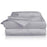 Hush Blankets Sheets Hush Iced 2.0 Cooling Sheet and Pillowcase Set in Grey