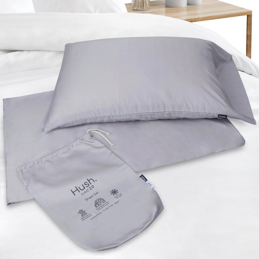 Hush Blankets Sheets Hush Iced 2.0 Cooling Sheet and Pillowcase Set