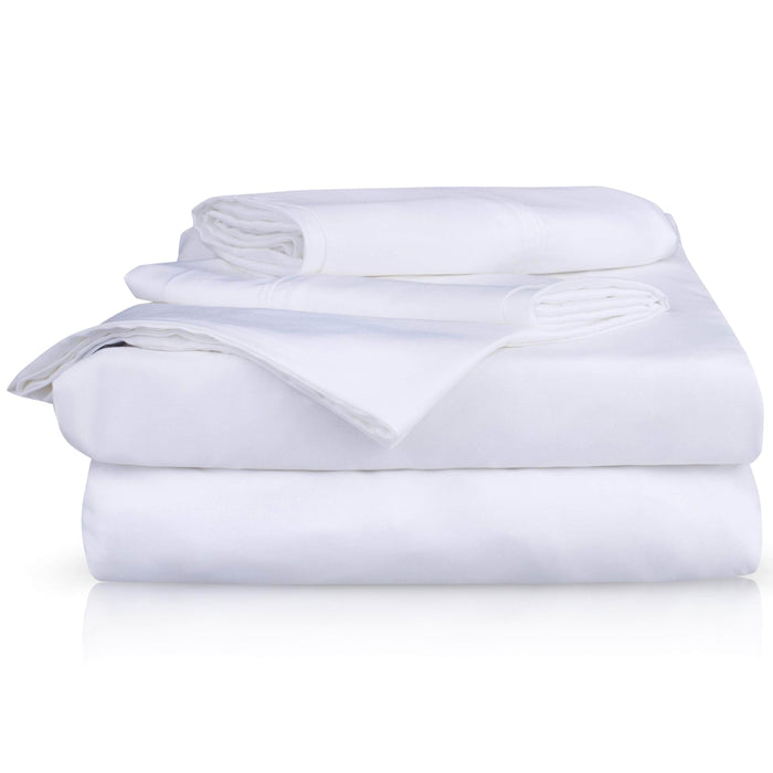 Hush Blankets Sheets Hush Iced 2.0 Cooling Sheet and Pillowcase Set in White