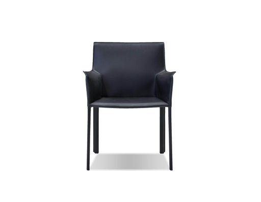Mobital Arm Chair Black Fleur Arm Chair Full Leather Wrap - Available in 4 Colors