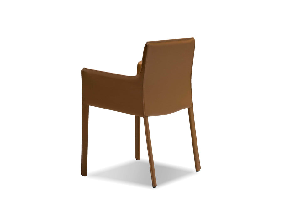 Mobital Arm Chair Fleur Arm Chair Full Leather Wrap - Available in 4 Colors