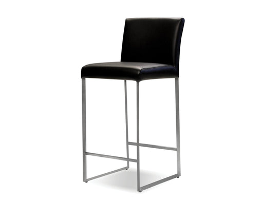 Pending - Mobital Bar Stool Black Tate Leatherette Bar Stool Black - Available in 3 Colors