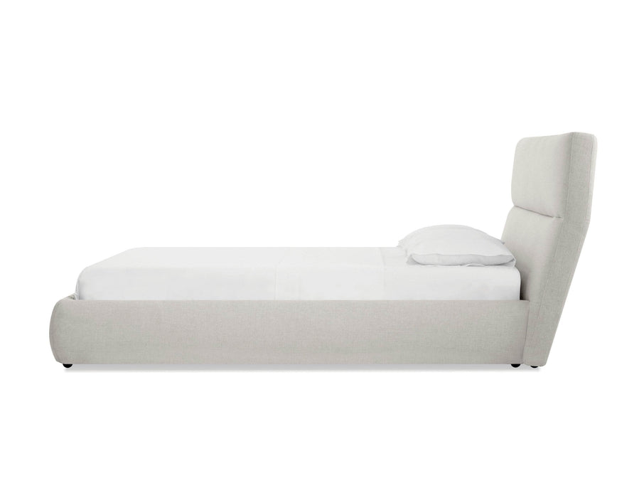 Mobital Bed Lunar Storage Bed in Greige Tweed - Available in 2 Sizes