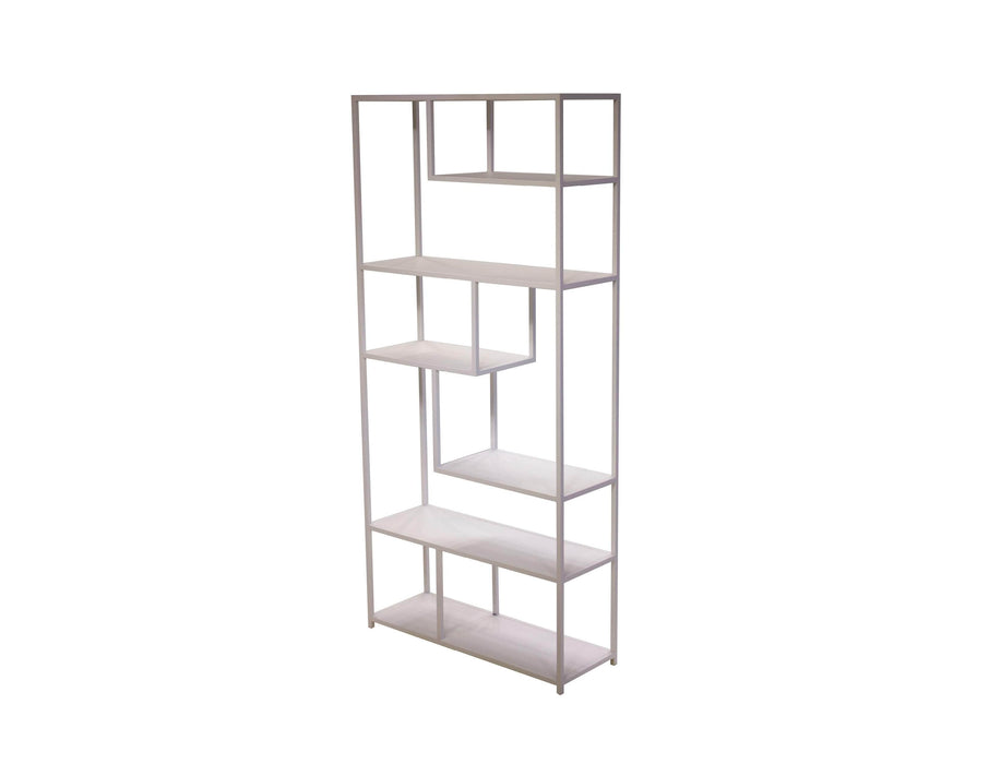 Mobital Bookshelf White Booker Bookshelf Powder Coated Metal - Available in 2 Colors