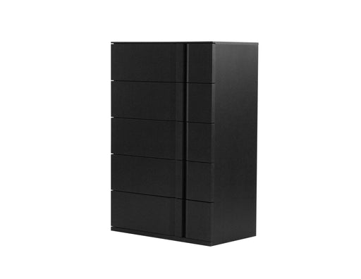 Mobital Carbon 5-Drawer Chest in Matte Black