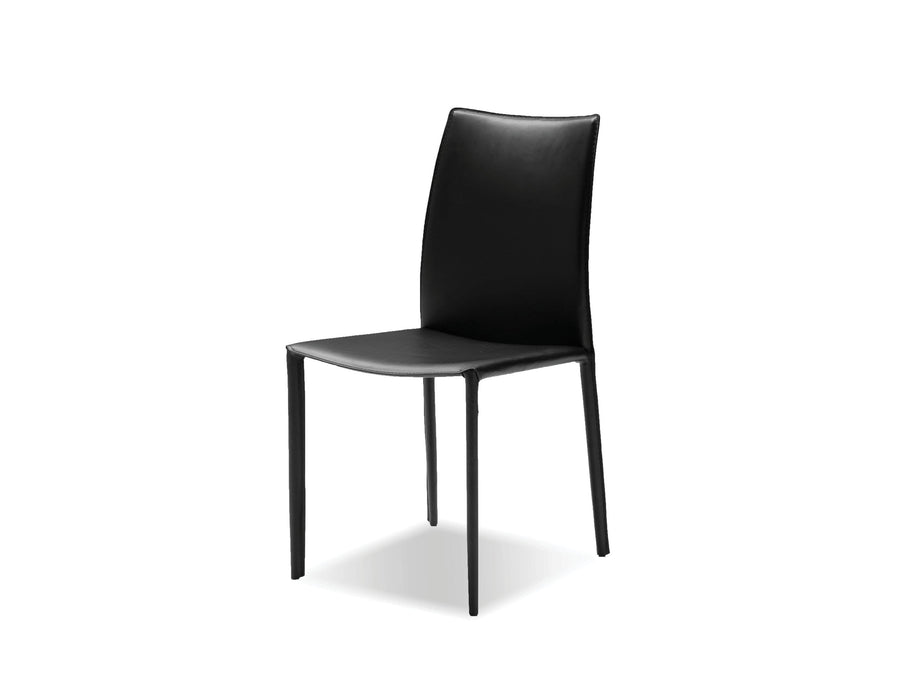 Mobital Zak Full Leather Wrap Dining Chair (Set of 2)