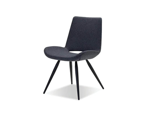 Mobital Willam Upholstered Dining Chair with Powder Coated Legs (Set of 2)
