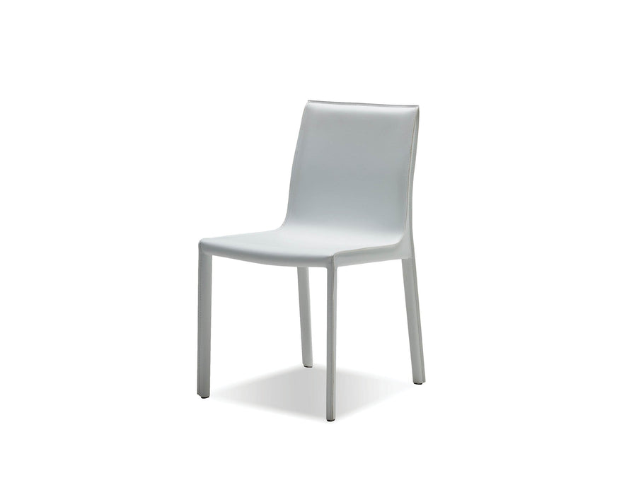 Mobital Dining Chair Fleur Dining Chair Full Leather Wrap Set Of 2 - Available in 4 Colors