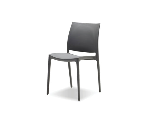Mobital Vata Stackable Polypropylene Dining Chair (Set of 4)