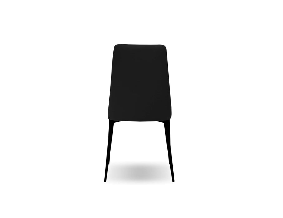 Mobital Dining Chair Seville Dining Chair With Matte Black Legs Set Of 2 - Available in 2 Colors
