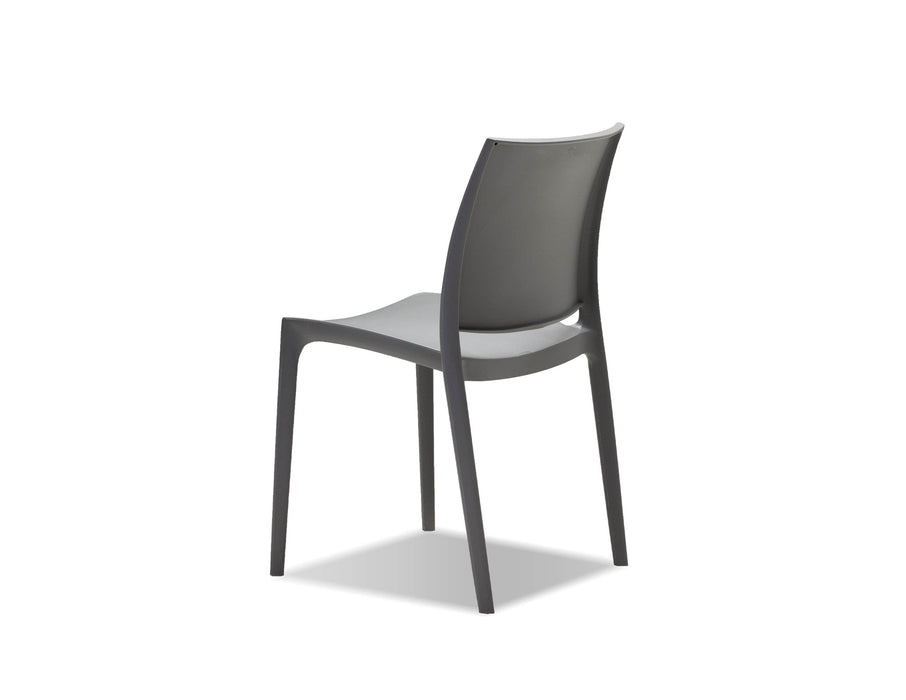 Mobital Dining Chair Vata Polypropylene Dining Chair Set Of 4 - Available in 2 Colors