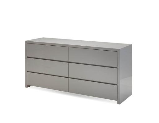 Mobital Dresser High Gloss Stone Blanche Double Dresser - Available in 2 Colors