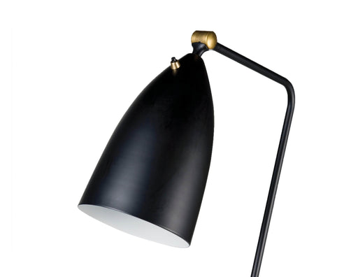 Mobital Stickman Floor Lamp with Matte Black Aluminum Shade