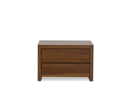 Mobital Night Table Natural Blanche 2-Drawer Night Table Natural