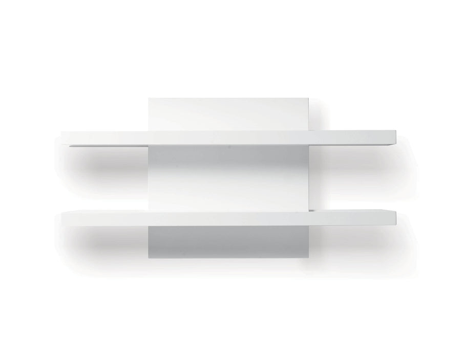 Mobital Wall Shelf High Gloss White Cargo Wall Shelf - Available in 2 Colors
